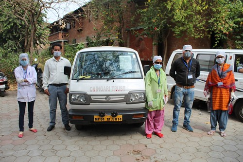 Community Health Team at Chingari
