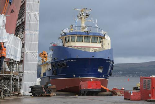 Kalista Helen - Ferguson Marine - Port Glasgow - 14-03-21