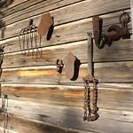 Old farm implements - Karen Community Garden