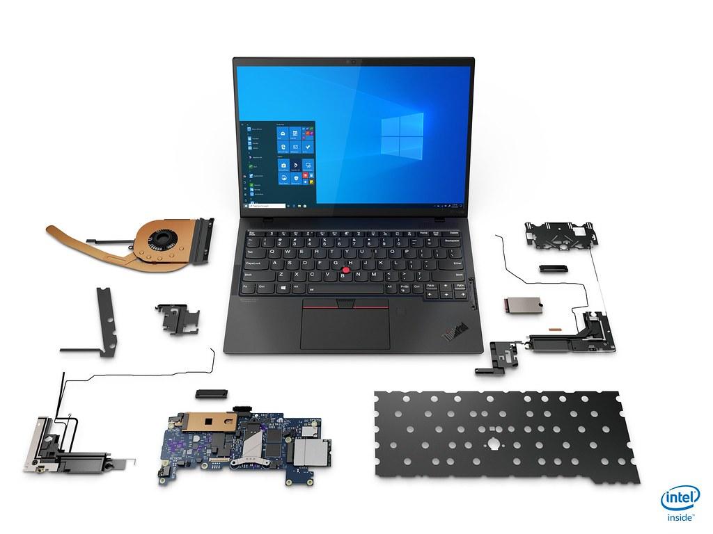 【新聞照片2】Lenovo史上最輕的ThinkPad,X1 Nano重量907克起,也是首款通過Intel Evo認證的ThinkPad產品。