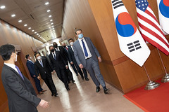 US, South Korean Officials Initial Special Measures Agreement