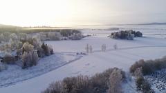 Talvimaisema Paimiossa