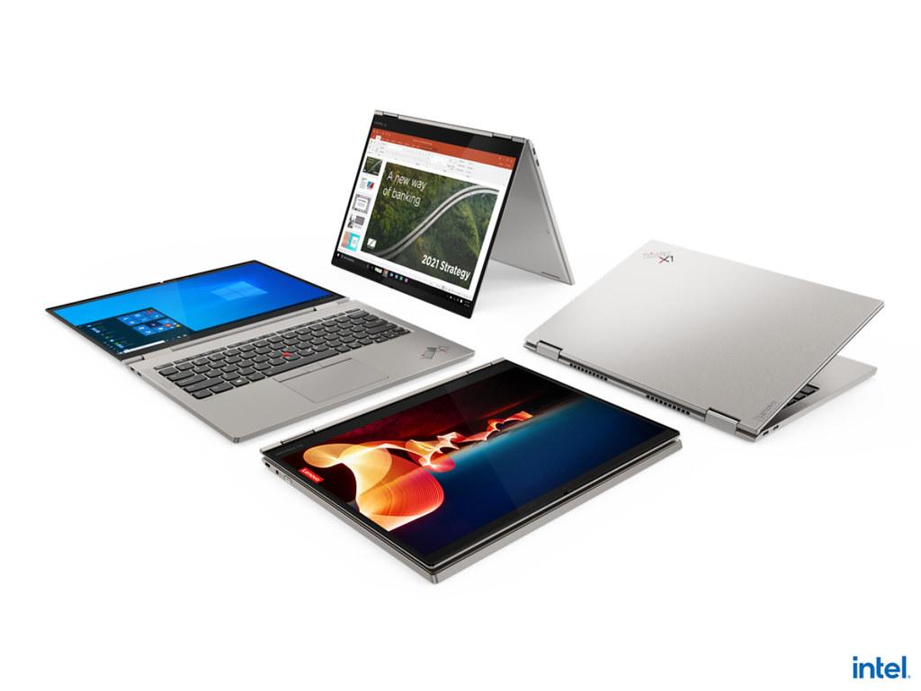 【新聞照片6】今年CES甫登場的ThinkPad X1 Titanium Yoga是史上最薄的ThinkPad產品,具備360度翻轉功能符合多元使用模式。
