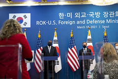 Secretary Austin Takes Part in 2+2 in South Korea