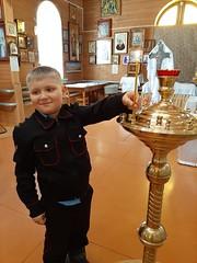 Дети в Троицком храме