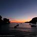 Panagia bay at sunset