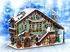 Winter Chalet on Bricklink Designer Program!