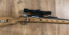 Mauser 98 - Drilled and tapped. Scope mounted