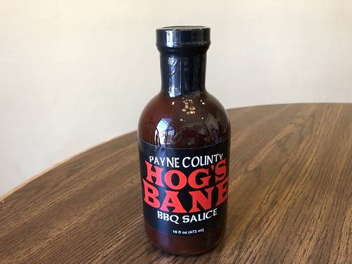 Payne County Hog's Bane BBQ Sauce by Wesley Fryer, on Flickr