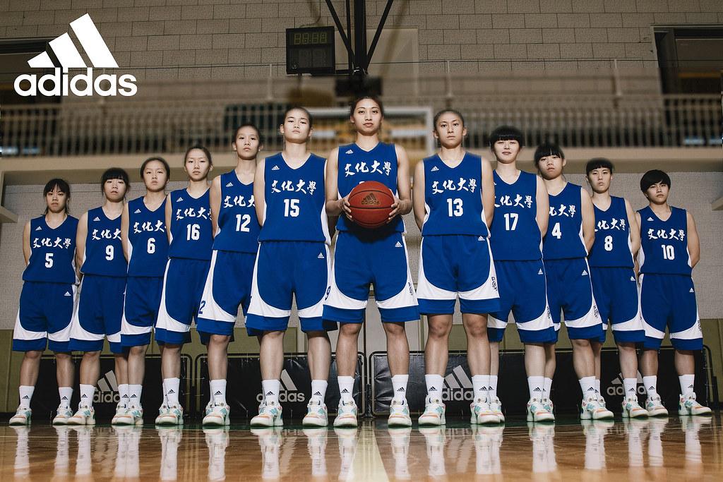 1. adidas深耕UBA大專籃球聯賽十載,聲援文化女籃重返后座,力拼隊史第20座UBA冠軍金盃!