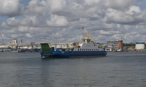 Ferry Žalgiris to Smiltynė, 15.08.2019.
