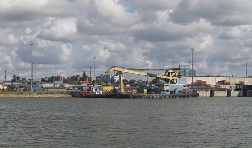 At Port of Klaipėda, 15.08.2019.