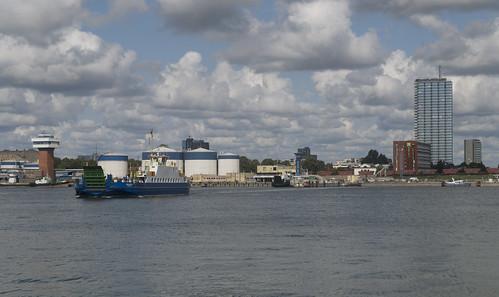 Ferries between Klaipėda and Smiltynė, 15.08.2019.