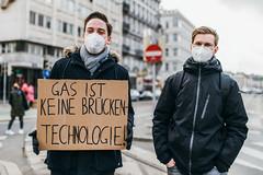 Demonstranten bei weltweitem Klimastreik sprechen sich gegen Gas als Brückentechnologie aus