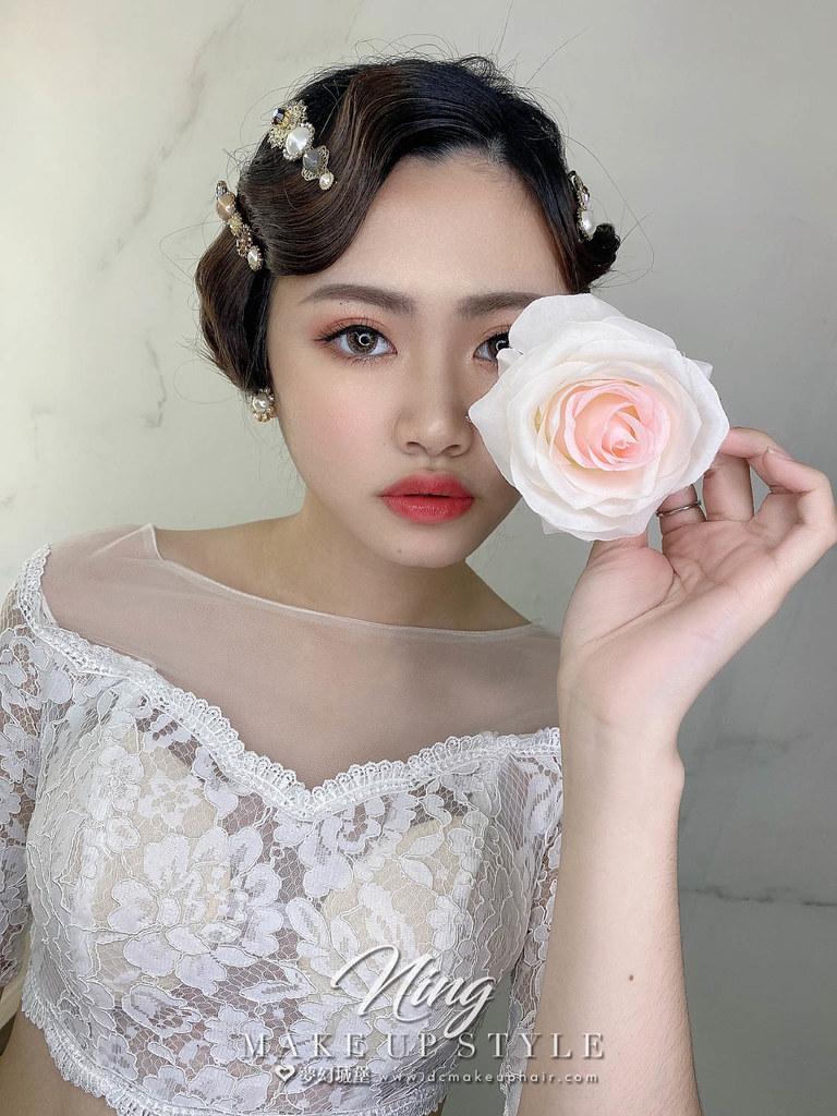 【新秘羽寧】新娘造型創作 / 輕復古