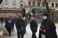 Cicha procesja wKrakowie - 20.03.2021