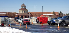 March 19, 2021 - Thornton Fire administers COVID vaccines.  (ThorntonWeather.com)