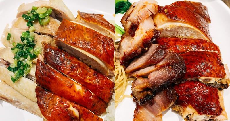 【台南美食】了凡油雞 燒臘飯.麵 台南西門店 新加坡米其林一星小販 油雞叉燒都好吃!
