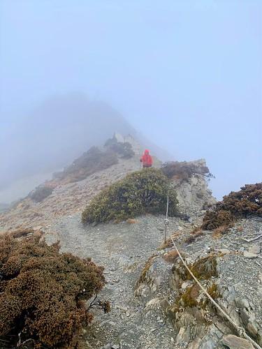 阿丹南湖登山2