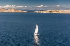 Segelboot in den Kornaten