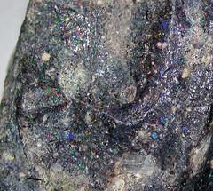Precious opal in basalt (Honduras) 2