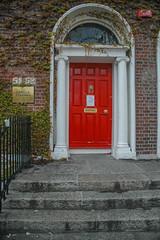 Georgian doors V, Dublin, Irland