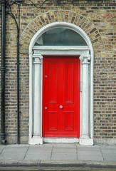 Georgian doors II, Dublin, Irland