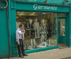 Bekleidungsgeschäft Galway, Irland