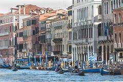 Venedig, Canale Grande und Gondeln