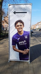 Season 2020-2021: vaccination centre RSC Anderlecht Lotto Park