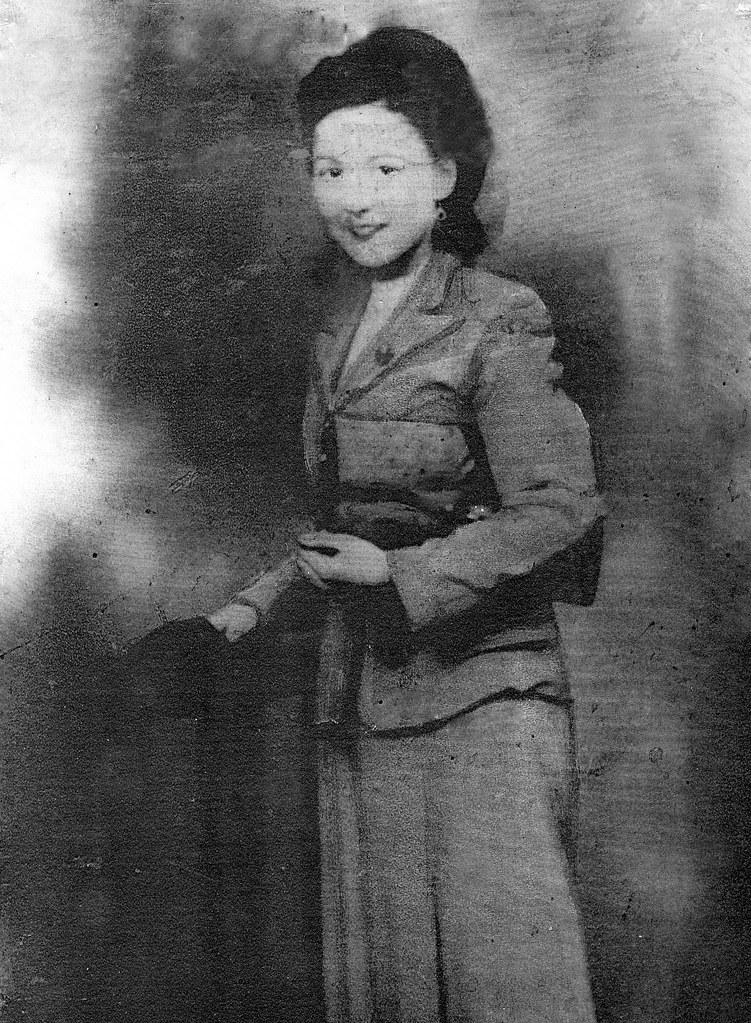 Flora Jane Adam in 1934