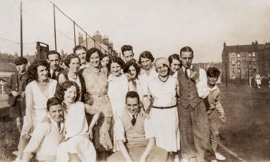 Tommy Weir and Isobel Elspeth Ireland, Tennis Club Season 1932.