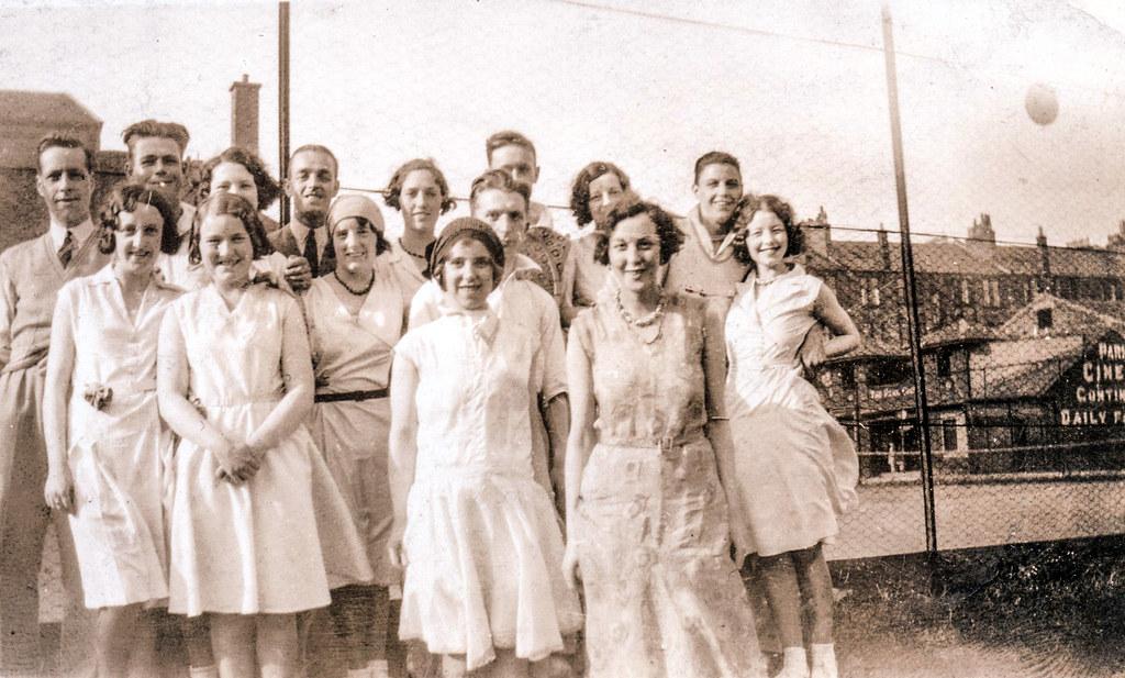 Tommy Weir & Isobel Elspeth Ireland, 1932.