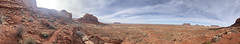 Panoramic in Monument Valley
