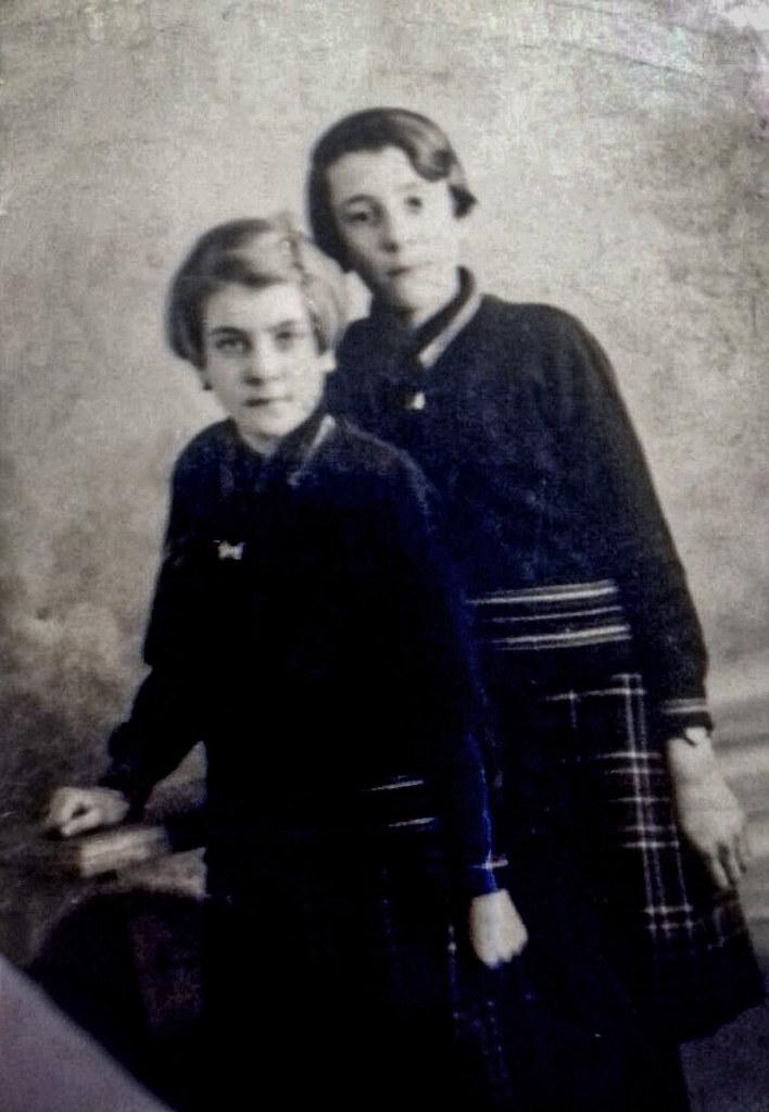 Christine & Betty Forrest, 1930s.