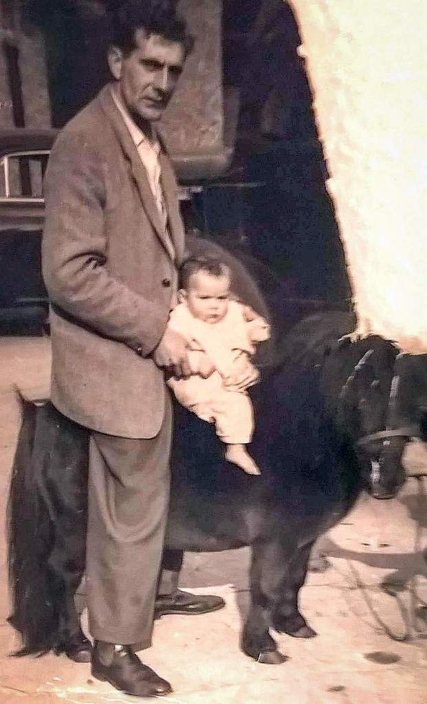 William Forrest and his son Swales, 1956.