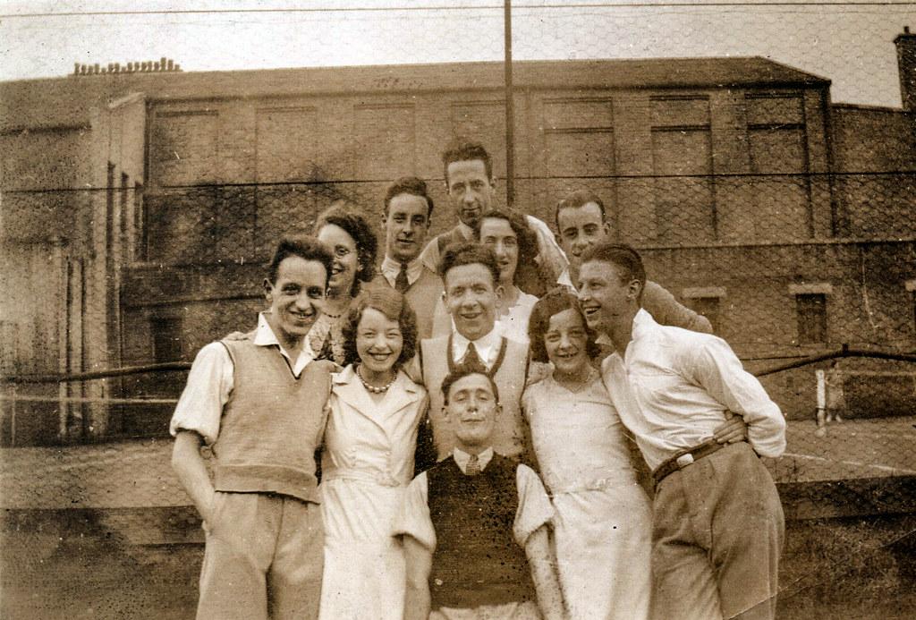 Isobel Elspeth Ireland & Tommy Weir Tennis Club Season 1932