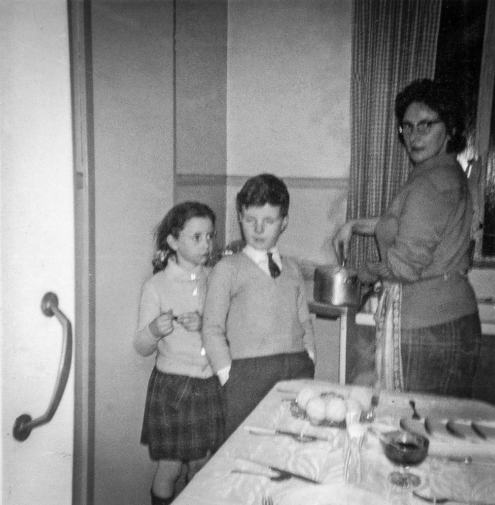Barmulloch  Kitchen, 1959.