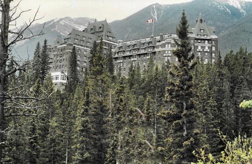 Banff  -  British Columbia -  Canada - Fairmont Hotel Springs
