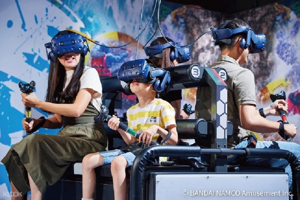 (圖6)宏匯廣場 VR ZONE虛擬實境遊樂園