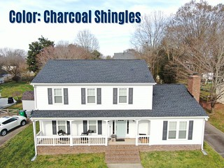 Color: Charcoal Shingles