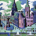 View of Dresden: Schlossplatz (1926) painting in high resolution by Ernst Ludwig Kirchner. Original from The Minneapolis Institute of Art. Digitally enhanced by rawpixel.