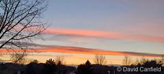 March 27, 2021 - Beautiful sunset clouds. (David Canfield)