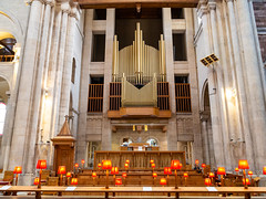 St Anne's Cathedral Organ Pipes - Belfast Northern Ireland