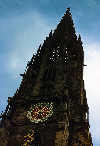 """Freiburg 1987 (04) Freiburger Münster • <a style=""""font-size:0.8em;"""" href=""""http://www.flickr.com/photos/69570948@N04/51087508916/"""" target=""""_blank"""">View on Flickr</a>"""