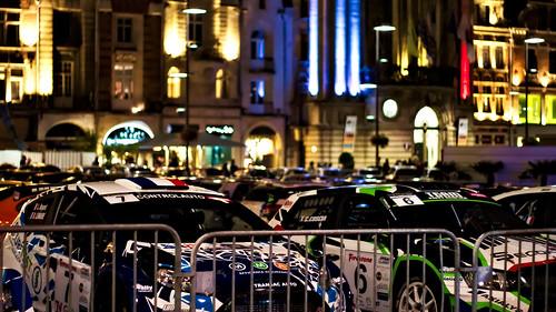 32 - Le rallye dans la ville
