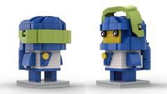 1980's LEGO Space Brickheadz