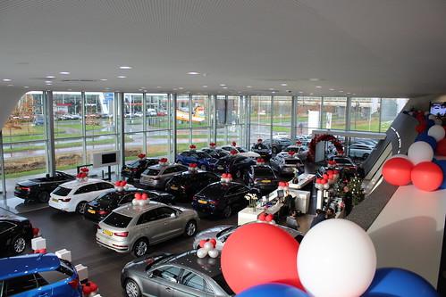 Ballontoef Paasshow Pasen Audi Centrum Rotterdam