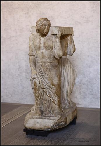 8367 MuzCastelVerona Scultore veronese del XIII secolo Cariatidi Caryatids 20180627 MuzCasVer_003  Museo di Castelvecchio, Verona