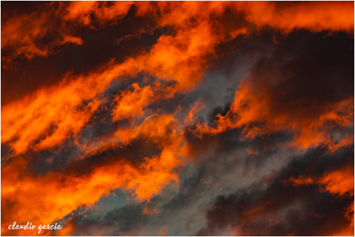 Ardiendo la tarde / Burning the afternoon